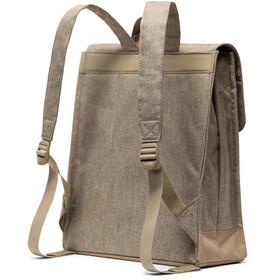Herschel City Mid-Volume Backpack 14L, kelp crosshatch/kelp